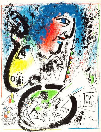 Marc Chagall, 'Self-Portrait', 1960