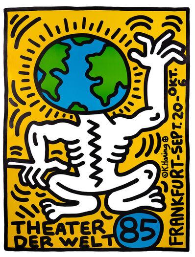 Keith Haring, 'THEATER DER WELT FRANKFURT ', 1985