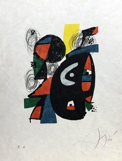 Joan Miró, 'La mélodie acide - 12', 1980