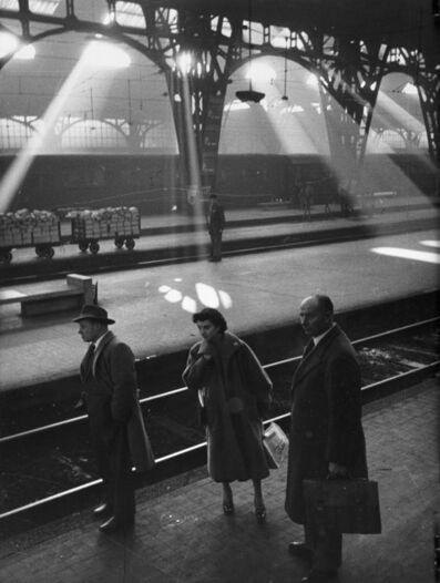 Mario De Biasi, 'Stazione Centrale, Milano', 1950 ca.