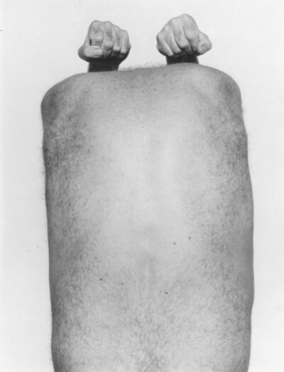 John Coplans, 'Self Portrait (Back with Arms Above)', 1984