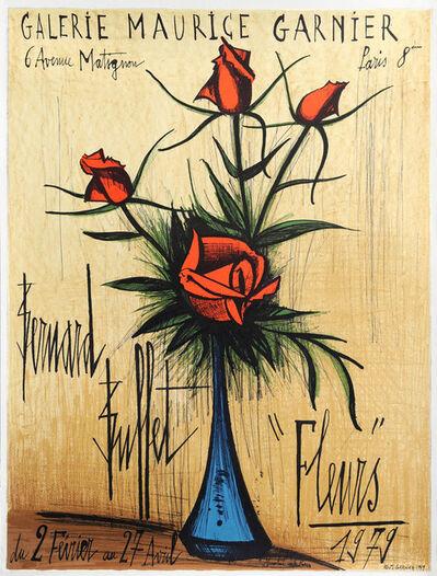 Bernard Buffet, 'Fleurs', 1979