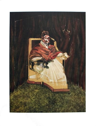 Francis Bacon, 'Portrait of Pope Innocent XII', 1995