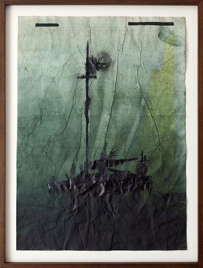 Jonathan Goldman, 'No Land Map #10', 2016