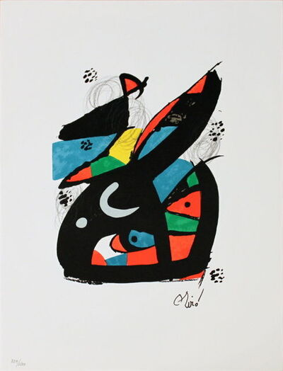 Joan Miró, 'Untitled (from La Melodie Acide XVII)', 1980