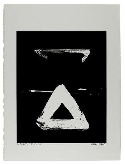 Fabienne Verdier, 'Etude du Sedes Sapientiae 7-28/30 靈感來自Van Eyck 7 (15世紀北歐女畫家)', 2012