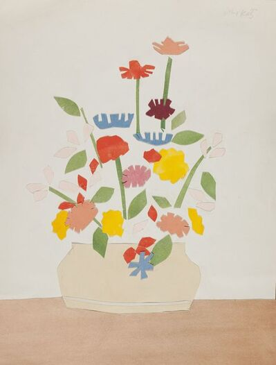 Alex Katz, 'Wildflowers in vase', 1954-1955