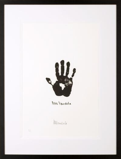 Nelson Mandela, 'Hand of Africa', 2002