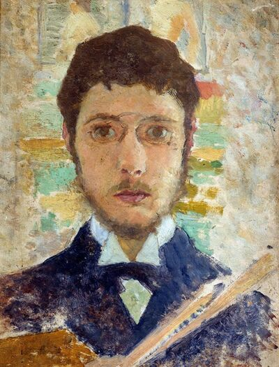 Pierre Bonnard, 'Self-Portrait', 1889