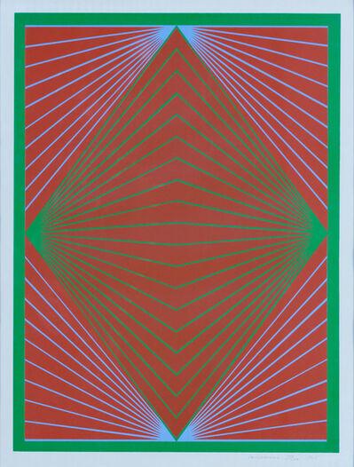 Richard Anuszkiewicz, 'Diamond Chroma', 1965