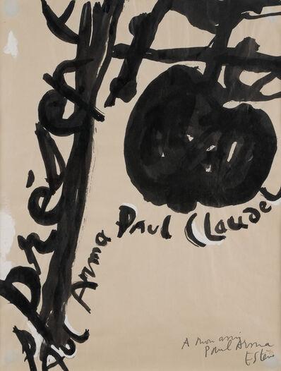 Maurice Estève, 'Composition', 1953