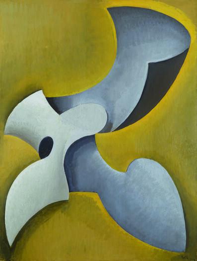 Alfréd Réth, 'Forme dans l'espace', 1934