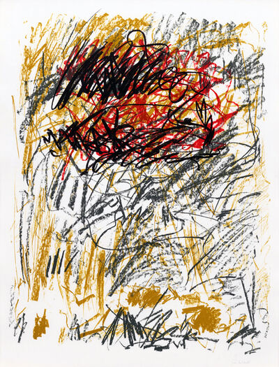 Joan Mitchell, 'Flower III', 1981
