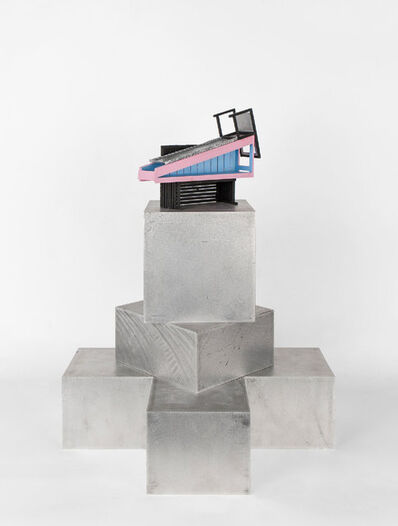 Siah Armajani, 'Tomb for Arthur Rimbaud', 2016