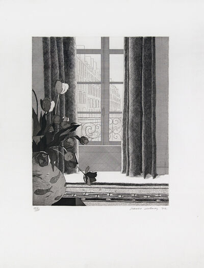 David Hockney, 'Rue de Seine', 1971