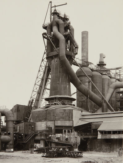 Bernd and Hilla Becher, 'Youngstown Works, Blast Furnace 4', 1981