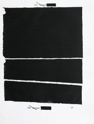 Jenny Holzer, 'Top Secret 23', 2012