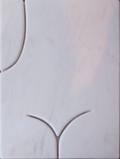 Wang Keping 王克平, 'Trois Lignes (white)', 2016