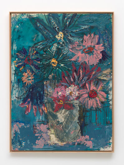 Daniel Crews-Chubb, 'Flowers (Midnight Blue)', 2020