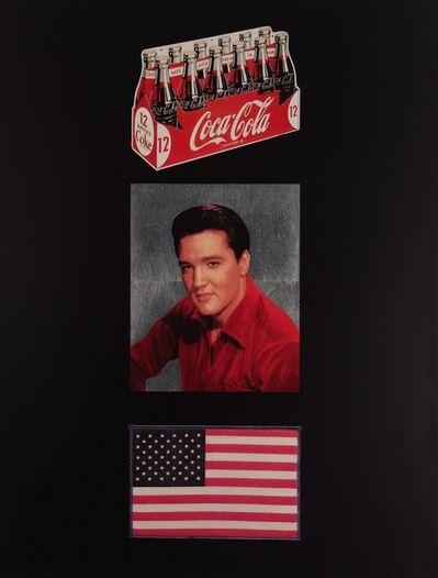 Peter Blake, 'American Trilogy, Black/Silver Gloss', 2012