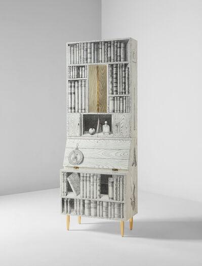 "Piero Fornasetti, 'Illuminated ""Libri"" trumeau', circa 2012"