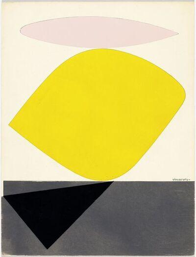 Victor Vasarely, 'Sauzon', 1952