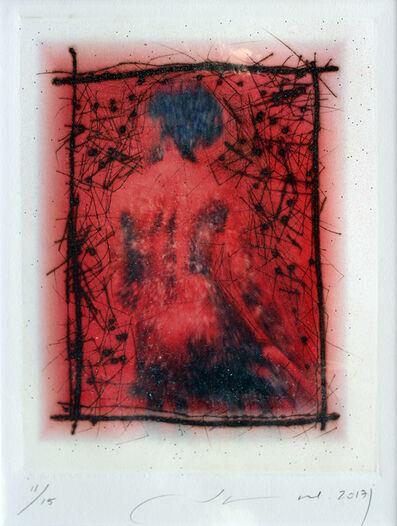 Jamal Abdul Rahim, 'Lady in Red', 2017