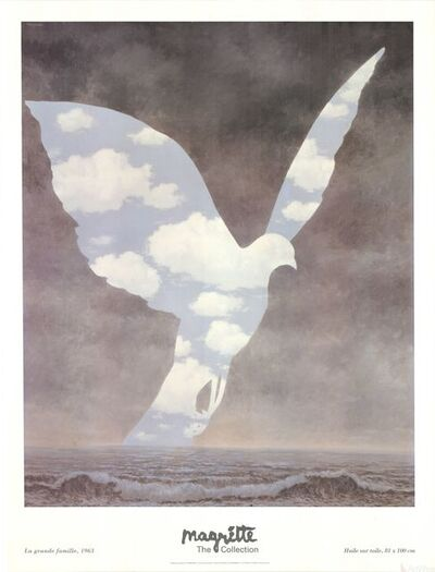 René Magritte, 'La Grande Famille', 1996