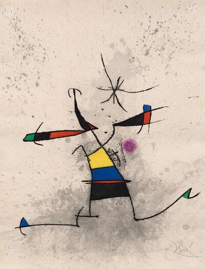 Joan Miró, 'Appelant écartelé (Quartered Decoy) (D. 572)', 1973