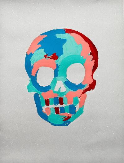 Bradley Theodore, 'Skull - White', 2020