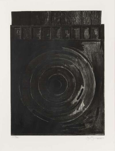 Jasper Johns, 'Target with Plaster Casts (Black & White)  ', 1980-1989