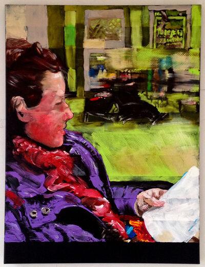 Bill Dunlap, 'Kunst (Suite in Purple & Green)', 2015