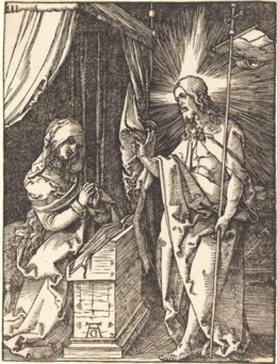 Albrecht Dürer, 'Christ Appearing to His Mother', probably c. 1509/1510