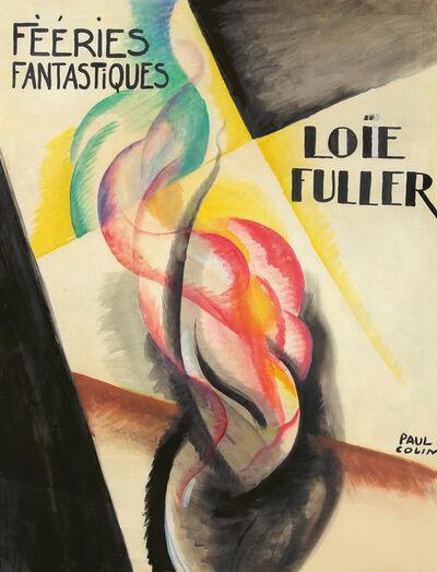 Paul Colin, 'Loïe Fuller : Maquette.', 1925