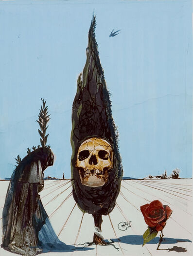 Salvador Dalí, 'Death', 1984