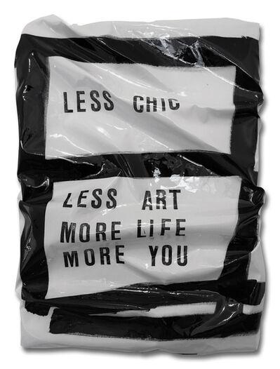 Caro Jost, 'NOTES C.J. (LESS CHIC)', 2017
