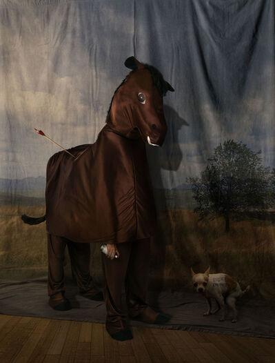 Agan Harahap, 'Kuda dan Pemandangan', 2017