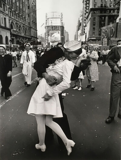 Alfred Eisenstaedt, 'VJ Day in Times Square', August 14-1945