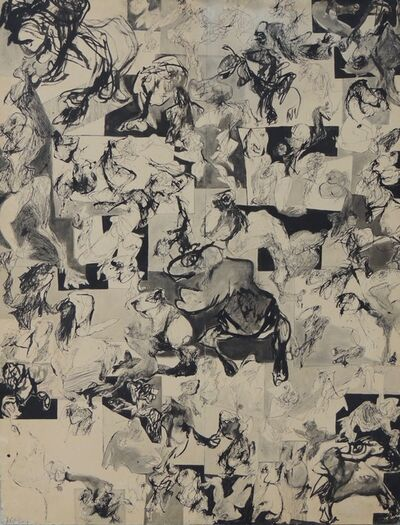 Jacqueline de Jong, 'T.V. Drawing', 1965