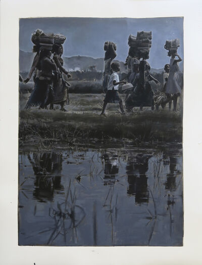 Jan De Maesschalck, 'Departure at the crack of day', 2016
