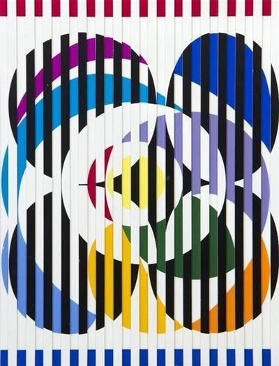 Yaacov Agam, 'Birth of Flag', 1976