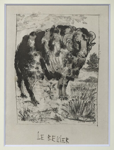 Pablo Picasso, 'Le Bélier', 1936-1942