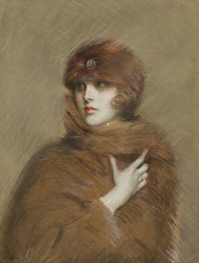 Paul César Helleu, 'Portrait de Kiki Preston (Alice Gwynne)', 1900