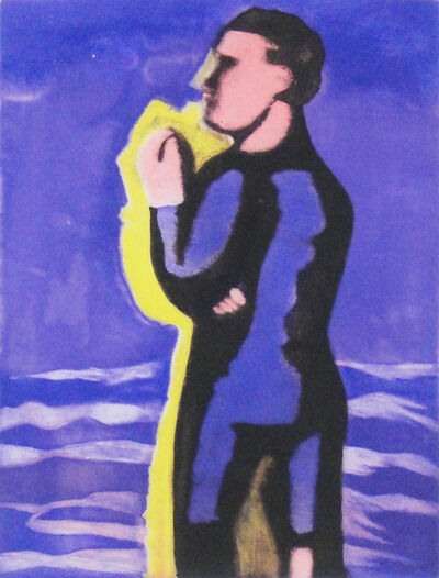 Sandro Chia, 'The man and the sea', 1992