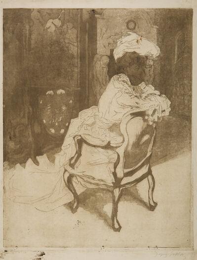 Jacques Villon, 'La Parisienne, Tournée a Droit', 1902