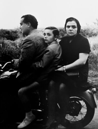 William Klein, 'The Holy family on wheels, Rome ', 1956