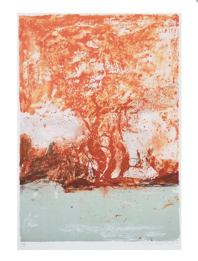 Zao Wou-Ki 趙無極, '無題 Untitled', 1998