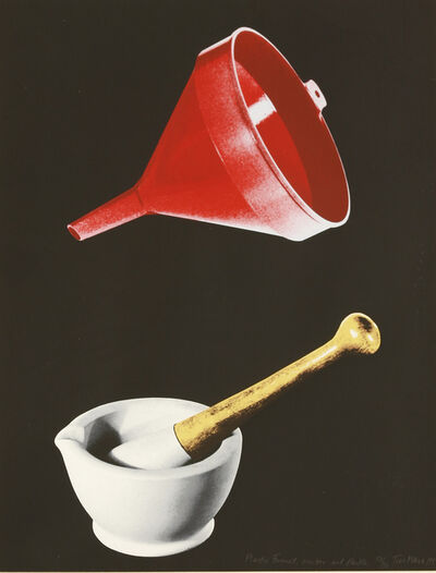 Tim Mara, 'Plastic Funnel, Mortar And Pestle', 1992