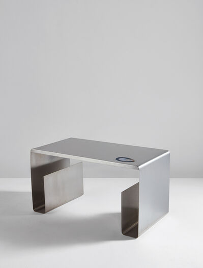 Maria Pergay, 'Pliée low table', circa 1968