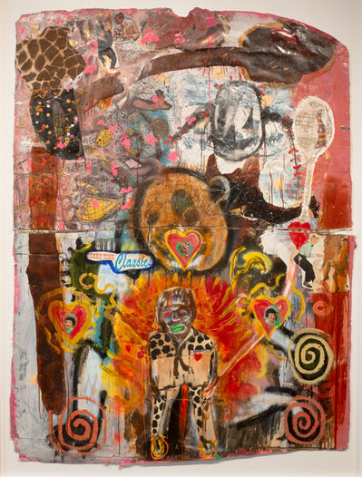 James Andrew Brown, 'Angel on Fire', 1980-2005